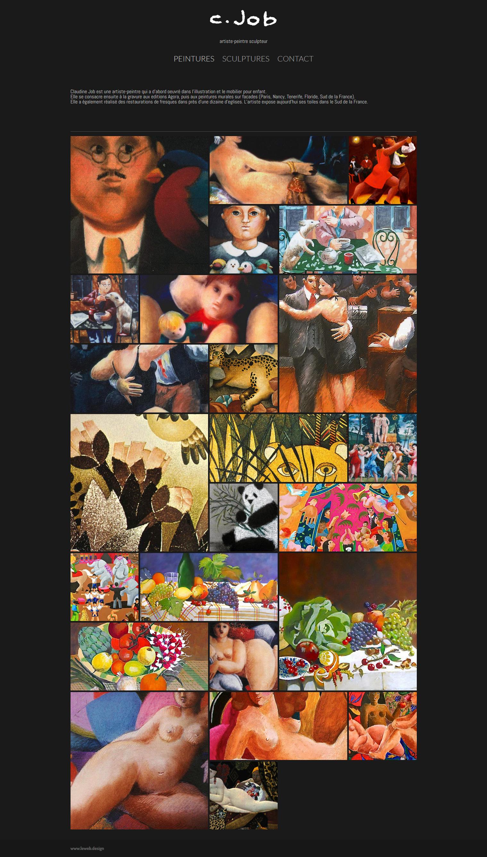 Screenshot_2020-10-30 Claudine Job artiste peintre-sculpteur